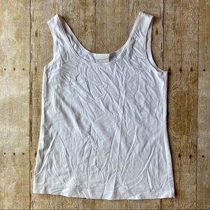 4/$20 Chico's white cami tank top undershirt